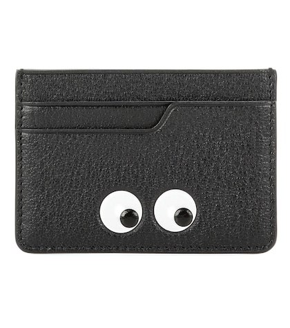 anya hindmarch female eyes leather card case