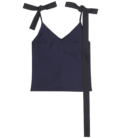 jacquemus female virgin wool top