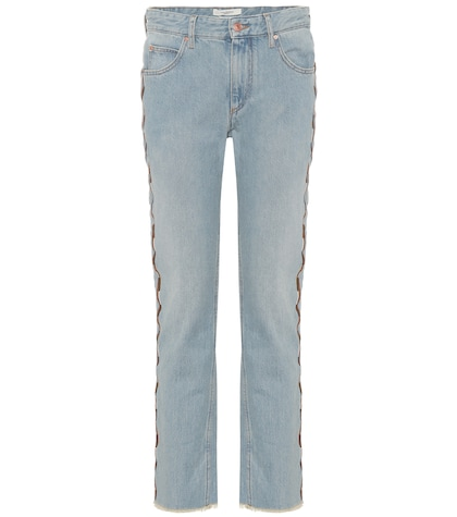 Colan embroidered jeans