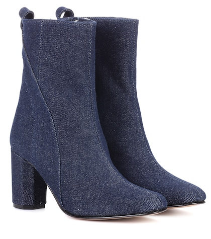 Joan denim ankle boots