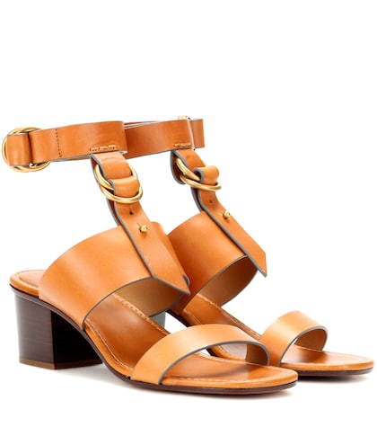 Kingsley leather sandals