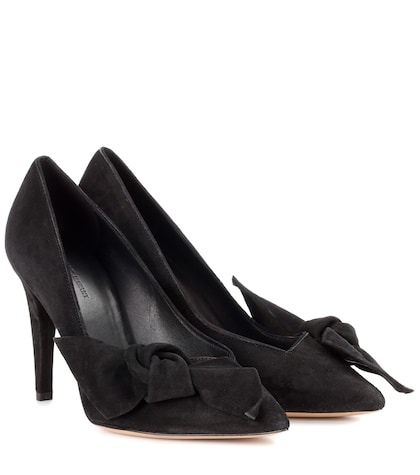 Poetty suede pumps