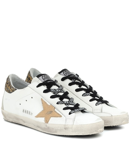 Superstar Leather Sneakers - Golden