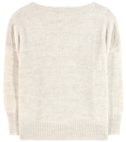 isabel marant etoile female grace alpaca wool and linenblend sweater