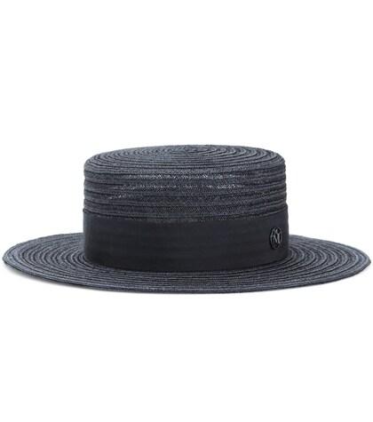 Kiki straw boater hat