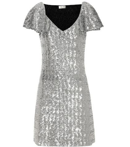 Sequinned Mini-dress