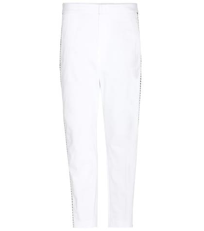 isabel marant etoile female holm cottonblend trousers