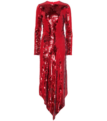 Clarissa sequinned dress