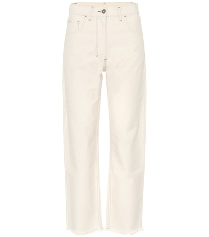 Rupa cropped high-waisted jeans
