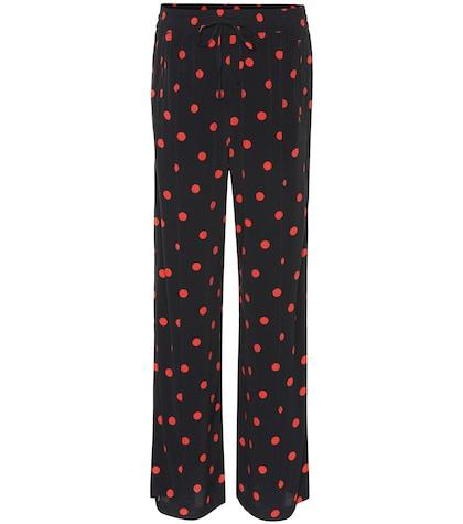 9ce2e7a4ac3a Ganni - Marceau georgette trousers | Mytheresa