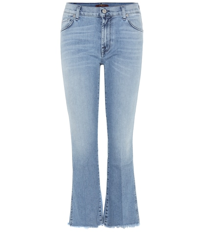 7 for all mankind female 201920 cropped bootcut jeans
