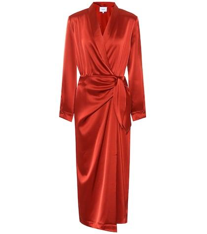 Ezra satin dress