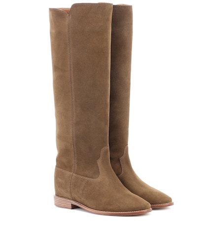 Cleave suede boots