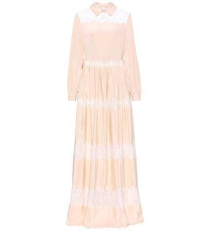 Clarice silk dress