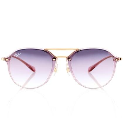 RAY-BAN | Blaze aviator sunglasses | Goxip