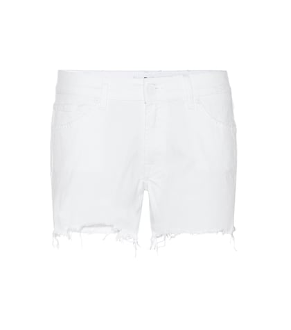 7 for all mankind female slouchy denim shorts