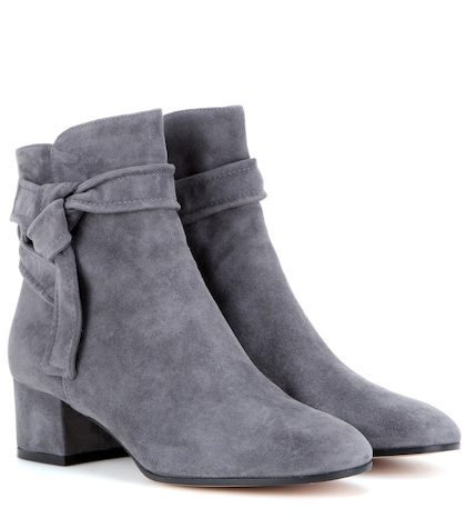 gianvito rossi female leslie suede ankle boots