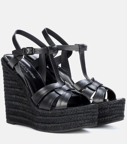 Espadrille 85 leather sandals