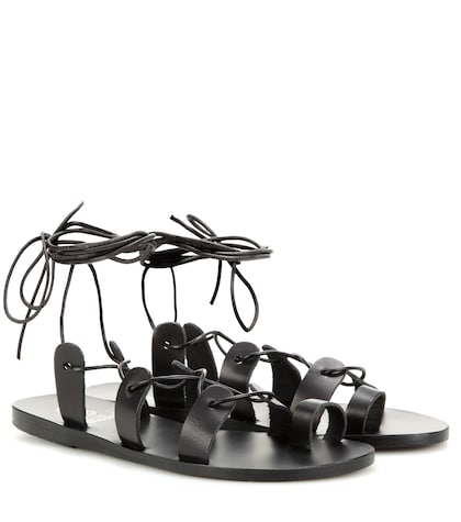 ancient greek sandals female alcyone leather sandals