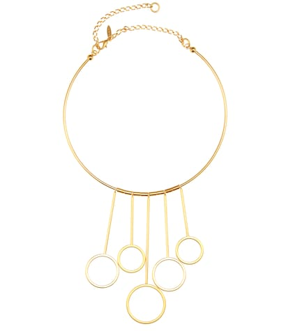 marni female golden necklace