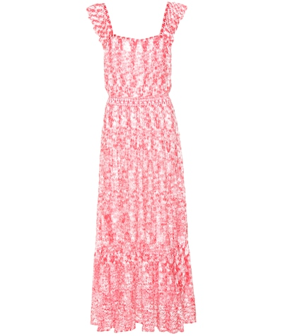 Crochet-knit Maxi Dress