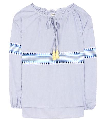 Mwali Poet cotton-blend shirt