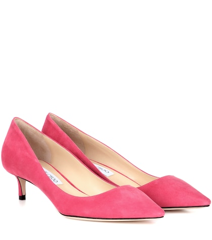 Romy 40 Suede Pumps