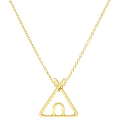 aliita female tipi 9kt gold necklace