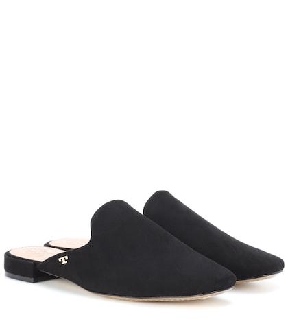 Carlotta suede slippers