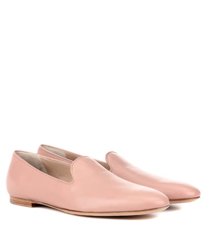 Francis leather slippers