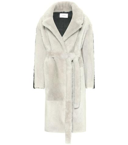Manteau en shearling