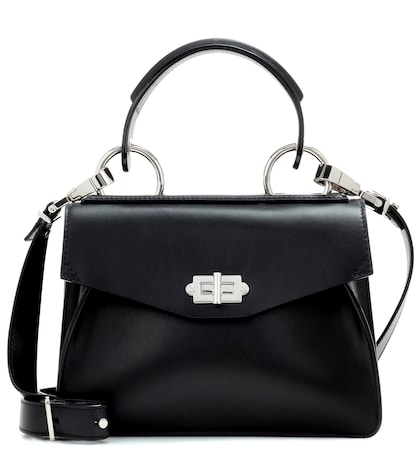 proenza schouler female hava leather tote