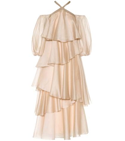 Tiered off-the-shoulder dress