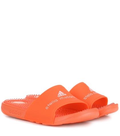 adidas by stella mccartney female adissage slipon sandals