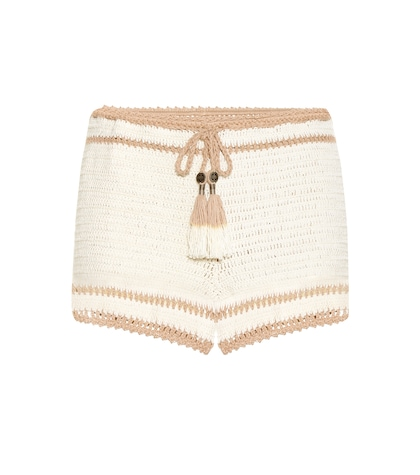 Sana Crocheted-cotton Bikini Bottoms
