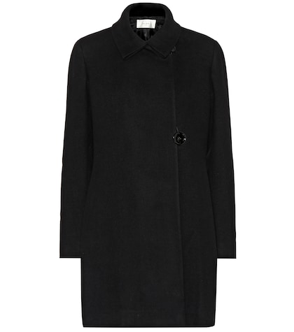 Cotton and wool coat