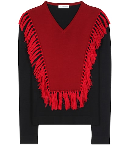 altuzarra female ming wool sweater