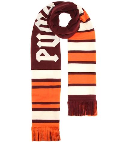 Varsity striped scarf