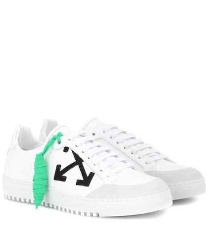 Carryover leather sneakers