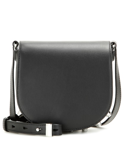 alexander wang female mini lia leather shoulder bag