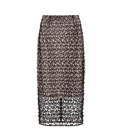 Anastatia Lace Pencil Skirt