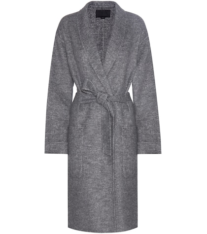 alexander wang female woolblend coat