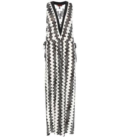 Crochet Knitted Maxi Dress
