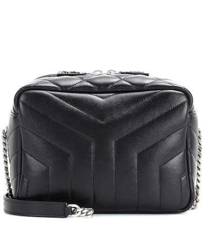 saint laurent female classic small loulou monogram shoulder bag