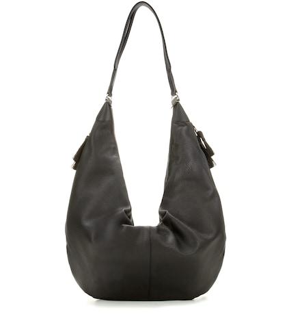 the row female sling leather shoulder bag