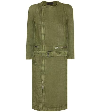 Cotton and linen coat