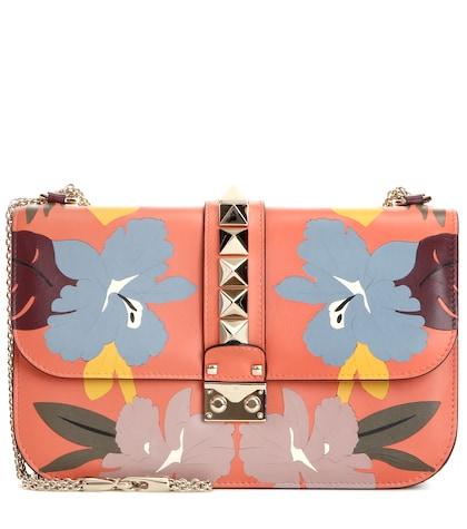 Mytheresa.com Online Exclusive Lock Medium Leather Shoulder Bag