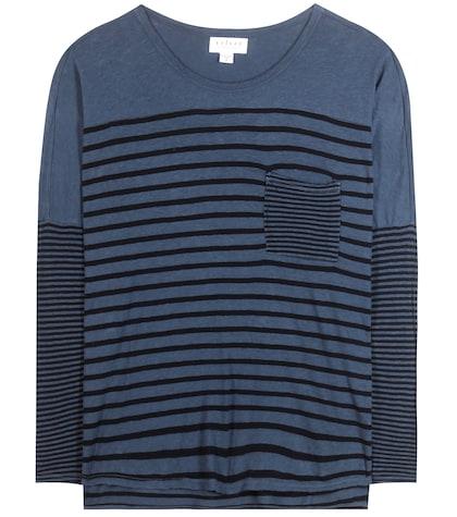 Ario striped top