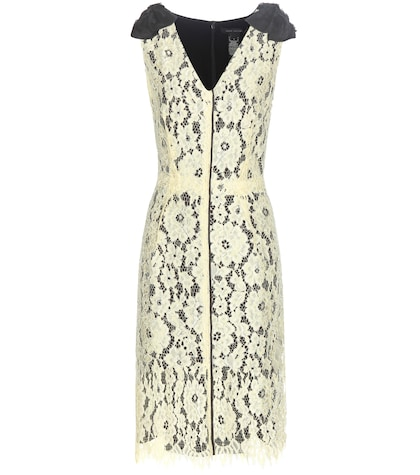 marc jacobs female sleeveless lace dress