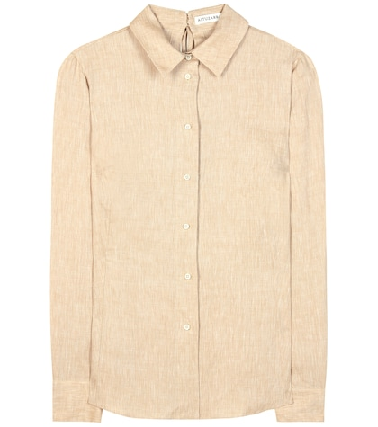 altuzarra female adams linen shirt